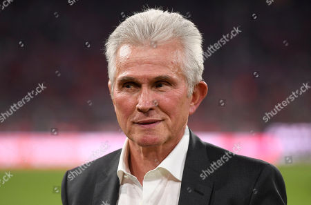 Stock Picture of Munich's former head coach Jupp Heynckes arrives prior to the farewell soccer match of Bastian Schweinsteiger between Bayern Munich and Chicago Fire in Munich, Germany, 28 August 2018.