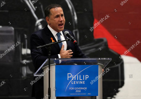 Democratic gubernatorial candidate Philip Levine gives a concession speech, in Miami