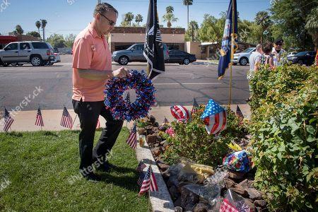 Editorial image of Senator John McCain , war hero, dies from brain cancer., Phoenix, USA - 28 Aug 2018