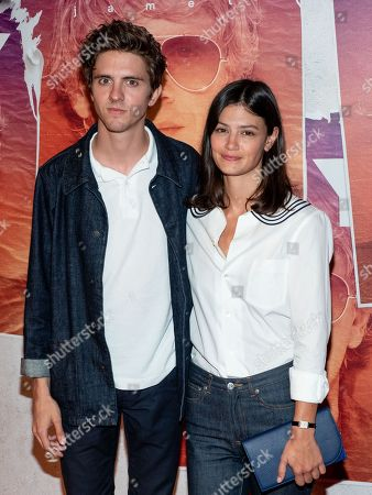 Thomas Soliveres and his girlfriend Nassima Benchicou