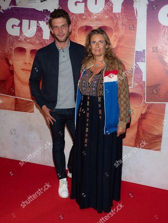 Arnaud Valois and Lisa Azuelos