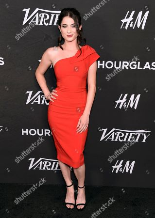 Niki Koss arrives at Variety's Power of Young Hollywood at the Sunset Tower Hotel, in Los Angeles