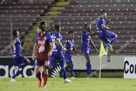 Editorial photo of Arabe Unido (Panama) vs. CD FAS (El Salvador), Panama City - 28 Aug 2018