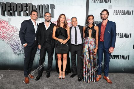 Editorial picture of STXfilms 'Peppermint' world film premiere at Regal LA Live, Los Angeles, USA - 28 Aug 2018