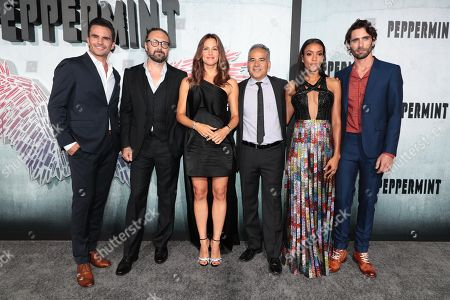 Juan Pablo Raba, Pierre Morel, Director, Jennifer Garner, John Ortiz, Annie Ilonzeh, Tyson Ritter