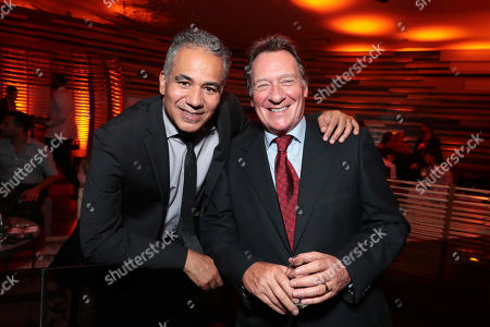 Stock Image of John Ortiz and Producer Gary Lucchesi