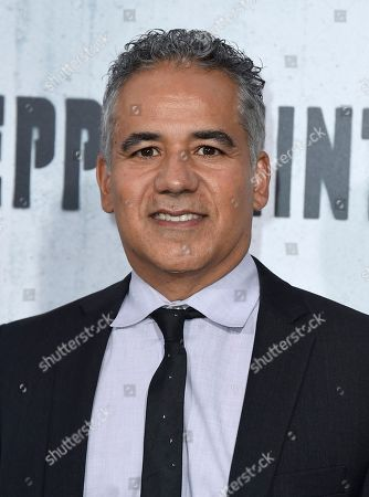 """John Ortiz arrives at the Los Angeles premiere of """"Peppermint"""" on in Los Angeles"""
