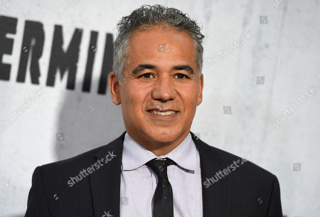 "John Ortiz arrives at the Los Angeles premiere of ""Peppermint"" on in Los Angeles"