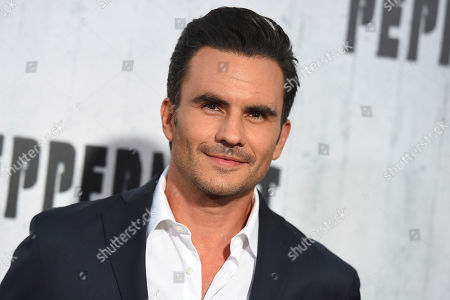 """Juan Pablo Raba arrives at the Los Angeles premiere of """"Peppermint"""" on in Los Angeles"""