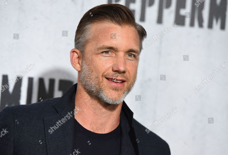 "Jeff Hephner arrives at the Los Angeles premiere of ""Peppermint"" on in Los Angeles"