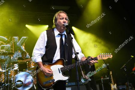 Greg Kihn performs at Pompano Beach Amphitheater on in Pompano Beach, Fla