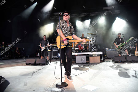 Tommy Tutone performs at Pompano Beach Amphitheater on in Pompano Beach, Fla
