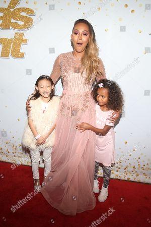 Allison, Melanie Brown and Daughter Madison Brown Belafonte