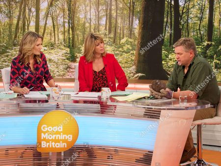 Stock Picture of Charlotte Hawkins, Kate Garraway and Ray Mears