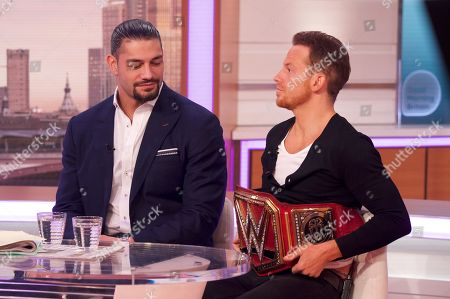 Roman Reigns and Joe Swash