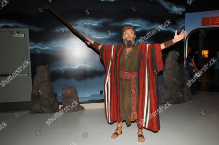 Charlton Heston wax figure
