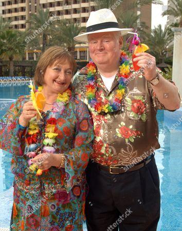 'Benidorm' - Janet Duvitski and Kenny Ireland.