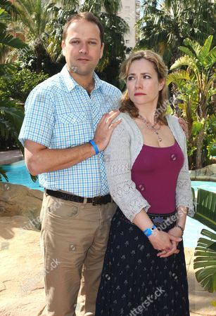 'Benidorm' - Nicholas Burns and Abigail Cruttenden.