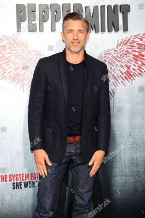 US actor/cast member Jeff Hephner arrives at the world premiere of 'Peppermint' at the Regal LA LIVE in Los Angeles, California, USA 28 August 2018. The movie opens in the US on 07 September 2018.