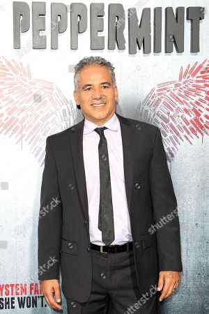 US actor/cast member John Ortiz arrives at the world premiere of 'Peppermint' at the Regal LA LIVE in Los Angeles, California, USA 28 August 2018. The movie opens in the US on 07 September 2018.