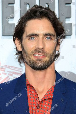 US actor/cast member Tyson Ritter arrives at the world premiere of 'Peppermint' at the Regal LA LIVE in Los Angeles, California, USA 28 August 2018. The movie opens in the US on 07 September 2018.