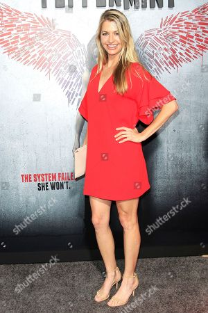 Actress Jamie Anderson arriving at the World Premiere of Peppermint at the Regal LA LIVE in Los Angeles, California, USA 28 August 2018. The movie opens in the US on 07 September 2018.