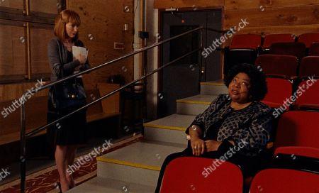 Rosemary Howard as Jane Jacobs and Martina Arroyo as Sandra