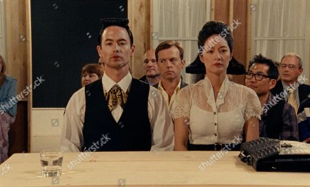G Young as Ray, Trevor St. John as Karl, Janet Hsieh as Eve