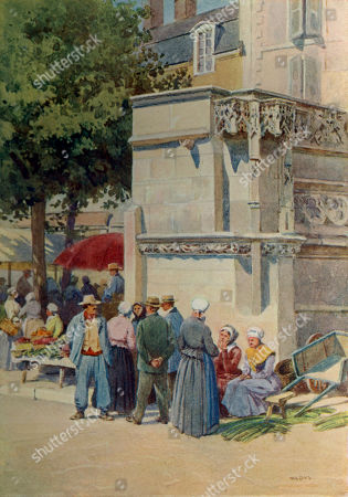 scenes,1904,fountains,xii,market,markets,place,places,france