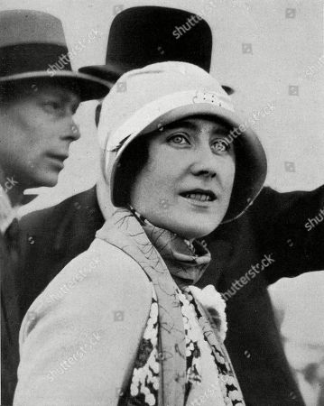Elizabeth Duchess of York (later Queen Elizabethe the Queen Mother) On A Visit to New Zealand with Her Husband the Future George Vi During the Extensive Royal Tour of 1927. Unattributed Photographs in the Sphere, 2 April 1927.