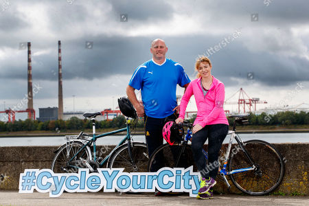 John Hayes and Fiona Steed are set to take part in this year?s Great Dublin Bike Ride! The rugby legends will be taking on the 65km cycle on Sunday, 23rd September. Pictured is John Hayes and Fiona Steed