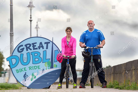 John Hayes and Fiona Steed are set to take part in this year?s Great Dublin Bike Ride! The rugby legends will be taking on the 65km cycle on Sunday, 23rd September. Pictured is Fiona Steed and John Hayes
