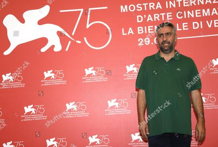 President of the 'Venezia Classici' jury Italian director Salvatore Mereu poses during a photocall at the 75th annual Venice International Film Festival, in Venice, Italy, 29 August 2018. The festival runs from 29 August to 08 September 2018.