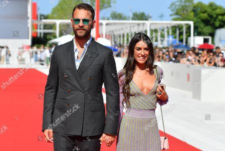 Italian actor/cast member Alessandro Borghi and his girlfriend Roberta Pitrone arrive for the premiere of  'Sulla mia pelle' during the 75th Venice Film Festival in Venice, Italy, 29 August 2018. The movie is presented in the Orizzonti section at the festival running from 29 August to 08 September.