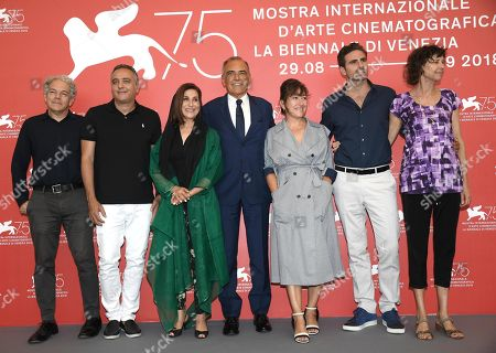 Editorial image of 75th Venice International Film Festival, Italy - 29 Aug 2018