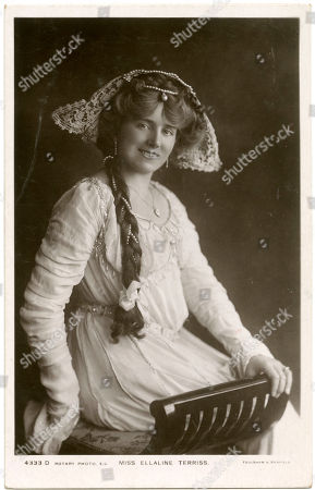Ellaline Terriss (1871 - 1971) English Actress and Singer. Photograph by Foulsham & Banfield On A Rotary Postcard