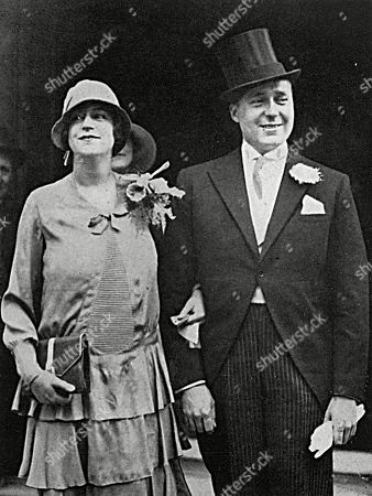 After Their Wedding Ceremony: Miss Elvira D. Mullens and Mr J. S. Barney the New York Vocalist. . the Illustrated Sporting and Dramatic News, August 11 1928.
