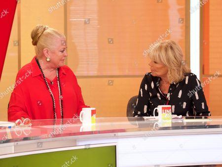 Kim Woodburn and Linda Robson