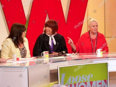Editorial photo of 'Loose Women' TV show, London, UK - 29 Aug 2018