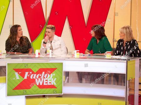 Janet Street-Porter, Linda Robson, Sam Bailey and Nicholas McDonald