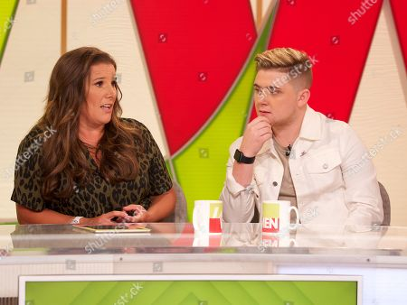 Stock Picture of Sam Bailey and Nicholas McDonald