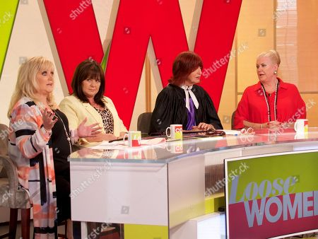 Linda Nolan, Coleen Nolan, Janet Street-Porter and Kim Woodburn