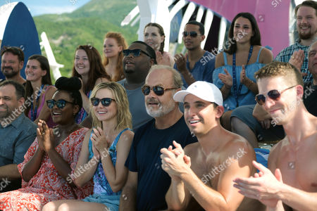 Blaire Brooks as Beth, Kristen Bell as Rachel, Leonard Ouzts as Dan, Kelsey Grammer as Harry, Paul Downs as Jim, Zach Appelman as Steve