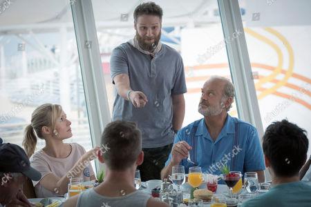 Anthony Laciura as Leonard, Kristen Bell as Rachel, Paul Downs as Jim, Seth Rogen as Jeff, Kelsey Grammer as Harry, Zach Appelman as Steve