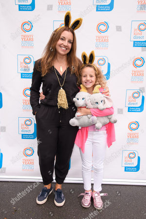Sarah Willingham and daughter Nelly (aged 8)