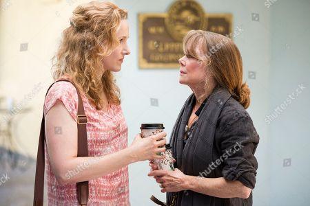 Katie Finneran as Belle Rayburn, Sissy Spacek as Sally Rayburn