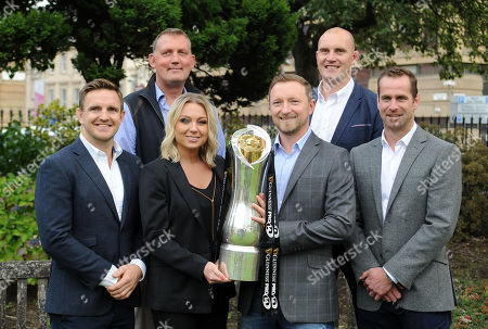 Editorial picture of Premier Sports launch of its Pro14 TV coverage, Glasgow, Scotland, UK - 28 Aug 2018