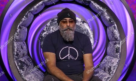 Hardeep Singh Kohli in the diary room