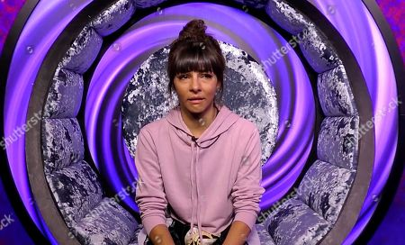 Stock Photo of Roxanne Pallett cries in the diary room