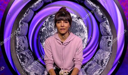 Roxanne Pallett cries in the diary room